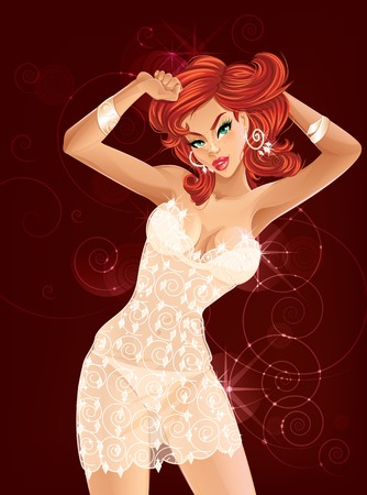 Redhead Dancing