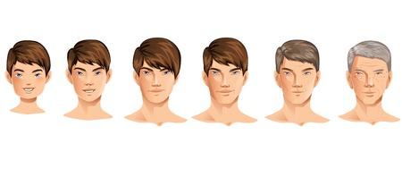 Age Process Illustration