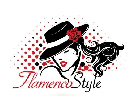 bailarina de flamenco: Flamenco Concepto Vectores