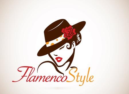 bailando flamenco: Flamenco Concepto Vectores