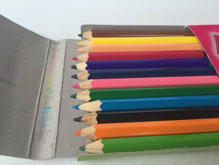 color: The color pencils Stock Photo