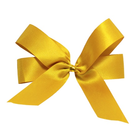 Gold ribbon photo