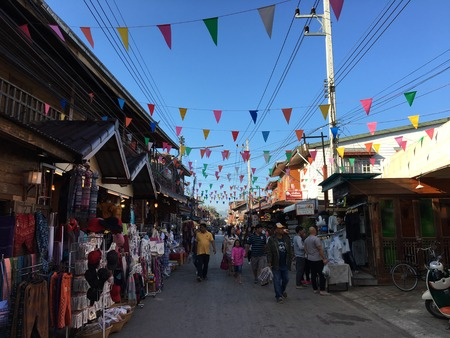 khan: chiang khan city in Loei,thailand