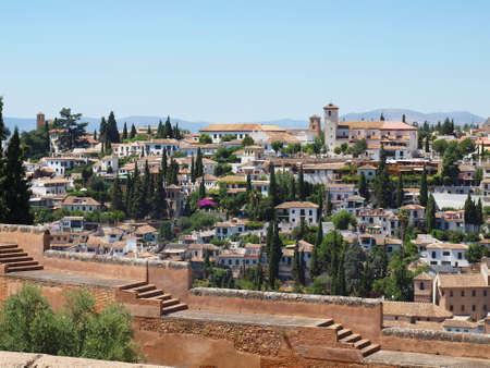 the  alhambra: Granada Alhambra Stock Photo