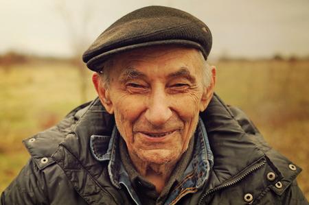 the elderly person