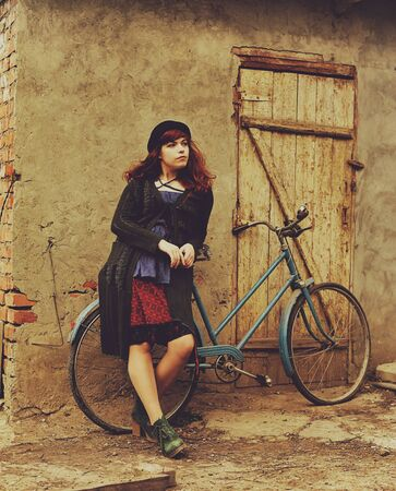 offense: The girl by bicycle