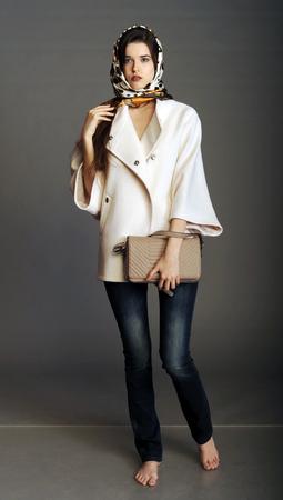 Coat White Coat Girl In A White Coat Ladies' Handbag Handbag