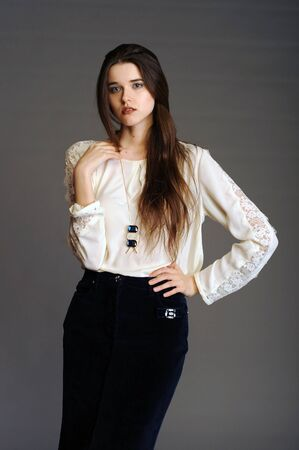 young womens: girl in white, woman in white, white blouse, office blouse, blouse, womens shirt, beautiful lady, beauty, health, young woman