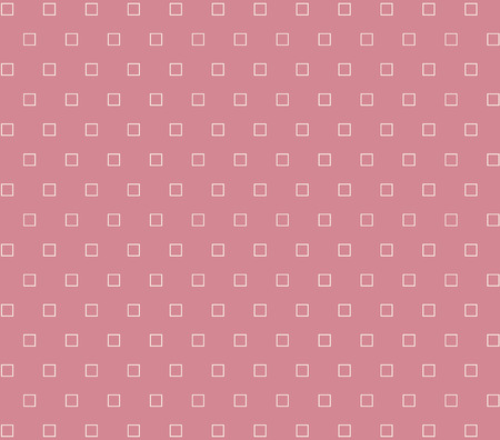 checkered label: white square seamless pink background Illustration