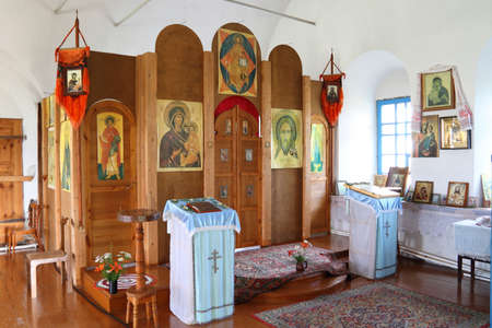 iconostasis: Furniture and icons in Russian Orthodox Church