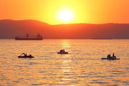 the decline: Decline on the Black Sea Stock Photo