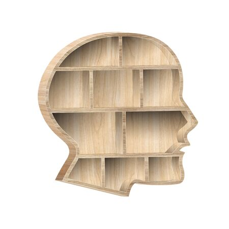 head shape 3d Standard-Bild
