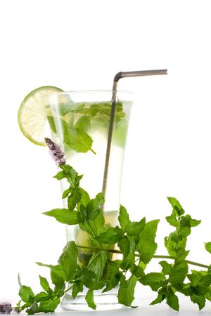 Mojito cocktail photo