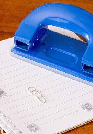 perforator: Notebook and perforator