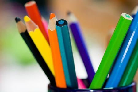 closeups: Crayons