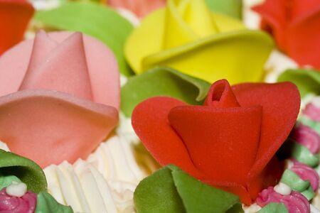 Cake rose