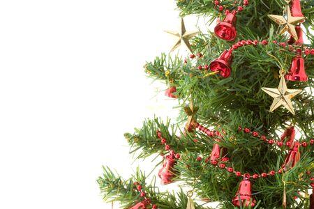 Isolated Christmas tree  photo