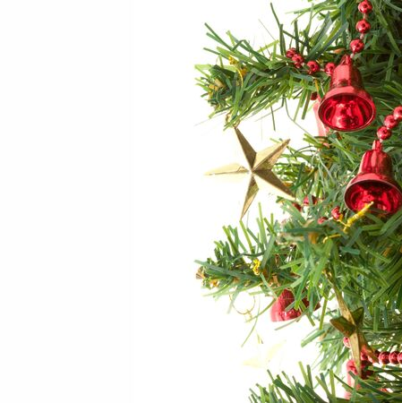 Isolated Christmas tree Stock Photo - 3932776