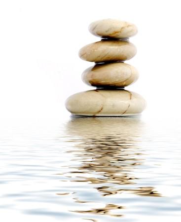 Stone tower photo