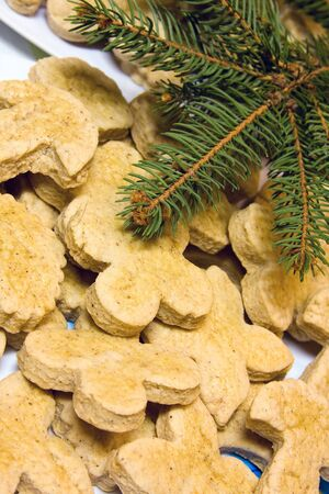 Christmas gingerbreads Stock Photo - 4074879