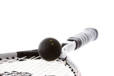 racket sport: Raqueta de squash Foto de archivo