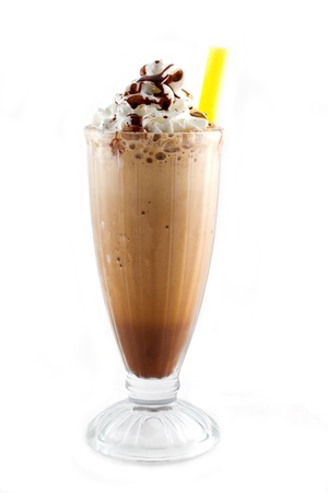 iced blended frappucino photo