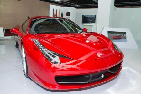 italia: KUALA LUMPUR - DEC 03: A  Ferrari F430, at the Kuala Lumpur International Motorshow 2010  on DECEMBER 3, 2010 in Kuala Lumpur, Malaysia