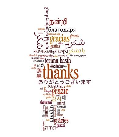 representations: Wordcloud concepto de fondo ilustraci�n de bienvenida diferentes idiomas