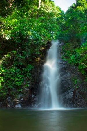 Durian Perangin Waterfall, Langkawi, Malaysia Stock Photo