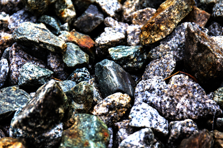 ballast: Rock rails Railway ballast