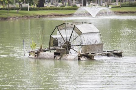 water turbine: Water turbine make oxygen in water