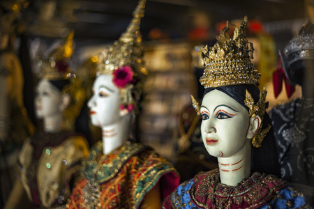 Traditional puppet of Thailand Stock Photo