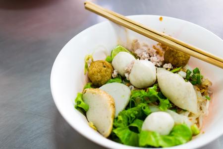 asian culture: thai Noodle food asian culture delicious