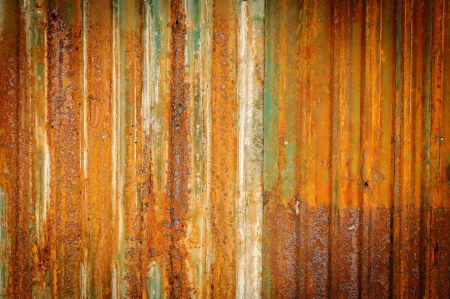 Old zinc fence background  Stock Photo - 13880320