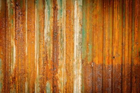 Old zinc fence background Stock Photo - 13880320