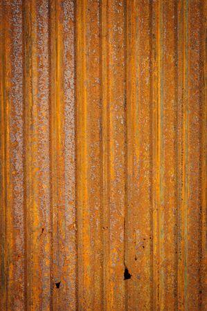 Old zinc fence background  photo