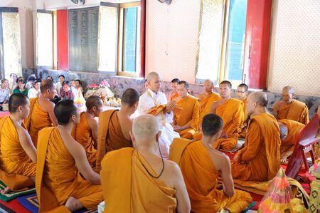 ordination: Bangkok ,Thailand,May 20 ,2012, Ordination in temple bangkok thailand