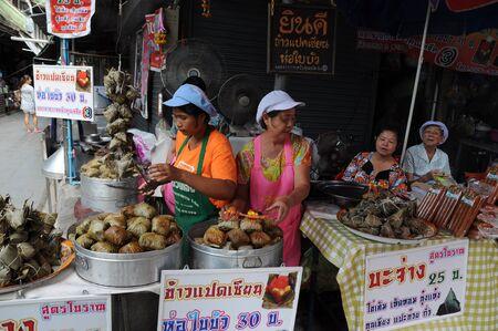 businees: somchuk market somschuk supanburi province,sep 1 2012,Tasty preserve in Sam Chuk Market 100 year old market