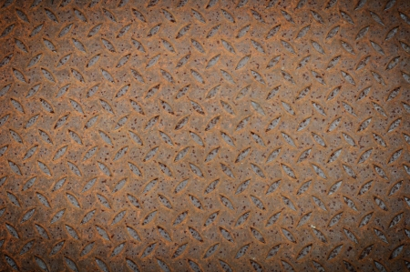 Texture of Old Steel Plate  Stock Photo - 15229865