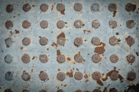 Texture of Old Steel Plate Stock Photo - 15229302