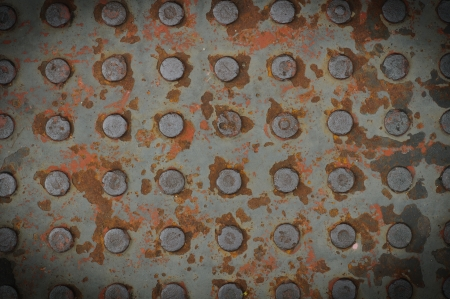 Texture of Old Steel Plate  photo