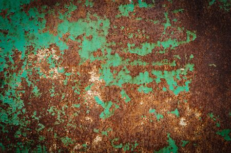 Detail of rusty metal, showing rust textures Stock Photo - 15332919