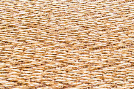 weaved: Texture of natural mat background