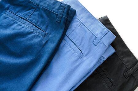khaki pants: trousers Stock Photo