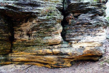 sandstone: Beautiful old sandstone Stock Photo
