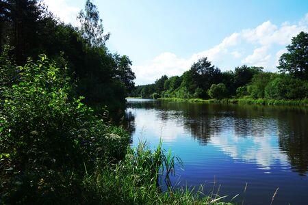 riverside: Riverside landscape