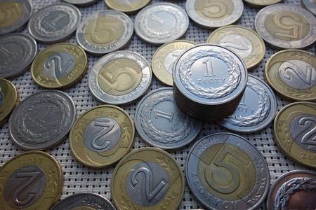 polish: polish coins