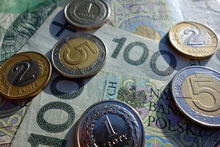 polish: polish currency Stock Photo
