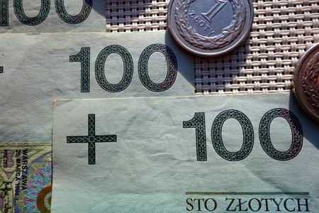 polish: polish money Stock Photo
