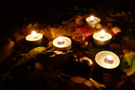 all saints day: All Saints Day at cemetery